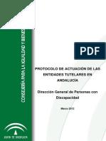 Protocolo de Actuacion de Las Entidades Tutelares en andaluz
