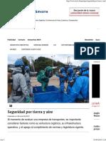 Seguridad por tierra y aire - Minería Chilena.pdf