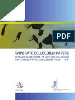 Bashar H. Malkawi, WIPO WTO Colloquium 2015 e
