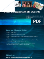 3. Building Rapport With EFL Students