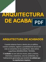 CLASE 10. ARQUITECTURA DE ACABADOS.pdf