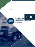Transport and logistics insights  January 2014.pdf