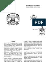 Folleto Masoneria Escocesa