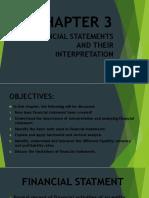 Financial Statements and Their Interpretation