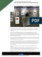 South African Job Market