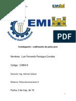Sistema de Codificacion de Pulso PCM