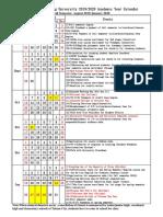 Academic Calendar 201976