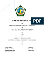 Report 1410991132 Patient Information System
