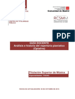 Análisis e Historia Del Repertorio Pianístico (Optativa) (1)