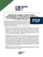 Autotrasporto_RESPONSABILITA_CONCORSUALE