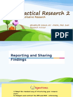 Chapter6- Reporting and Sharing Research Findings