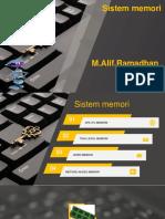 13 m.alif.Ramadhan X TKJ a Sistem Memory