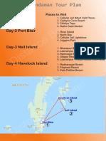 Andaman Itinerary PDF
