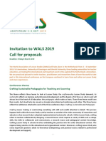 Call for Proposals WALS 2019 1