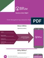 Brite - Presentation