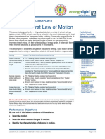LP 1.2 Newtons First Law of Motion