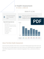 BrainHealthAssessment Report
