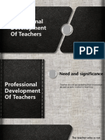 Ppt FIX Teacher Development