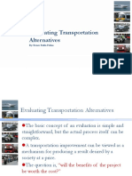 Evaluating Transportation Alternatives.ppt