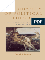 Deneen 2003 The Odyssey of Political Theory_ The Politics of Departure and Return-Rowman & Littlefield Publishers (2003) cópia.pdf