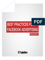 Best Practices for Facebook Advertising