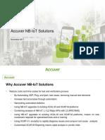 Accuver NB-IoT Nov2017 v3