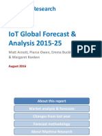 2016-08-03 Iot Global Forecast Analysis 2015-2025