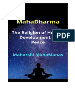 MahaDharma ।। the Religion of Human Development