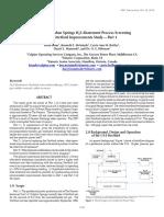 Sulphur Springs h2s Abatement Process Screening and Stretford Improvements Study Part 1