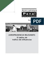 DELITO DE TRAFICO DE INFLUENCIAS