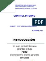 Sesion 01 Control Interno