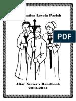 Handbook for Altar Servers (2013-2014)