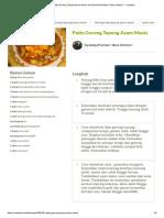 Resep Patin Goreng Tepung Asam Manis Oleh DyahAyuPutriani _dhee Kitchen_ - Cookpad