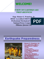 Earthquake Preparedness PSME