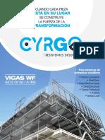 Catalogo Vigas Cyrgo Sas.