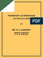 0.00 - - Transport Co-Ordination