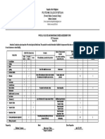c i Ct Physical Facilities Assessment Form