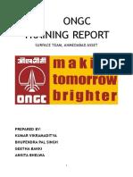 ONGC Training report