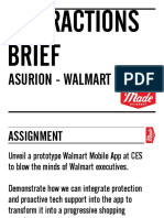Walmart App Interactions Brief v 2