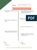 Lista de Exercícios 166 - Distância Entre Ponto e Reta (1)