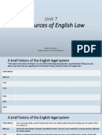 Unit 7.the Sources of English Law (005)