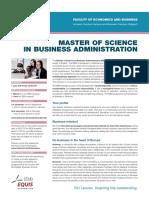 KU Leuven Brochures MBA