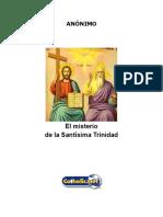 El Misterio de La Santísima Trinidad (Anónimo)