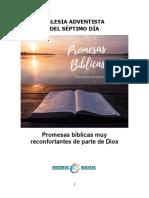 Promesas Bíblicas Muy Reconfortantes de Parte de Dios (Iglesia Adventista Del Séptimo Día)