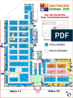 Expo Paint and Coating Layout Plan Hall 10,11 Wch