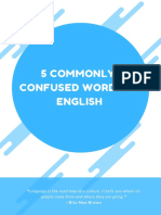 Commonly Confused Words in English (1)