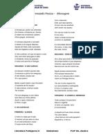 Poemas Fernando Pessoa