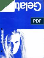 Berkey Colortran Gelatran Flyer 1973