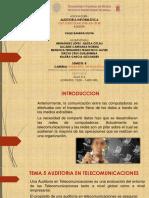 Copia de 5 Auditoria en Telecomunicaciones