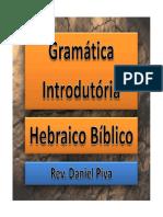 Resumo Hebraico Completo